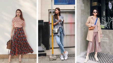 Street style xuống phố Tháng hai nổi bật của fashionista Việt