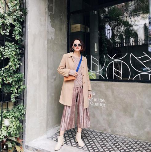 Các fashionista Việt mặc gì để nổi bật trong street style xuống phố tháng 2