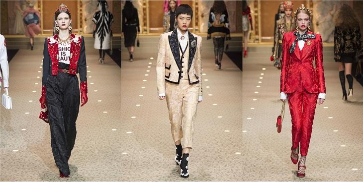 ELLE Việt Nam - Dolce & Gabbana hòa vào cuộc chơi công nghệ với bộ sưu tập Thời trang Tín ngưỡng (18)