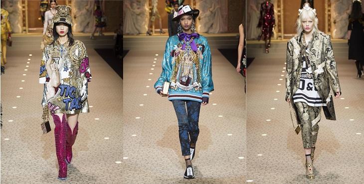 ELLE Việt Nam - Dolce & Gabbana hòa vào cuộc chơi công nghệ với bộ sưu tập Thời trang Tín ngưỡng (6)