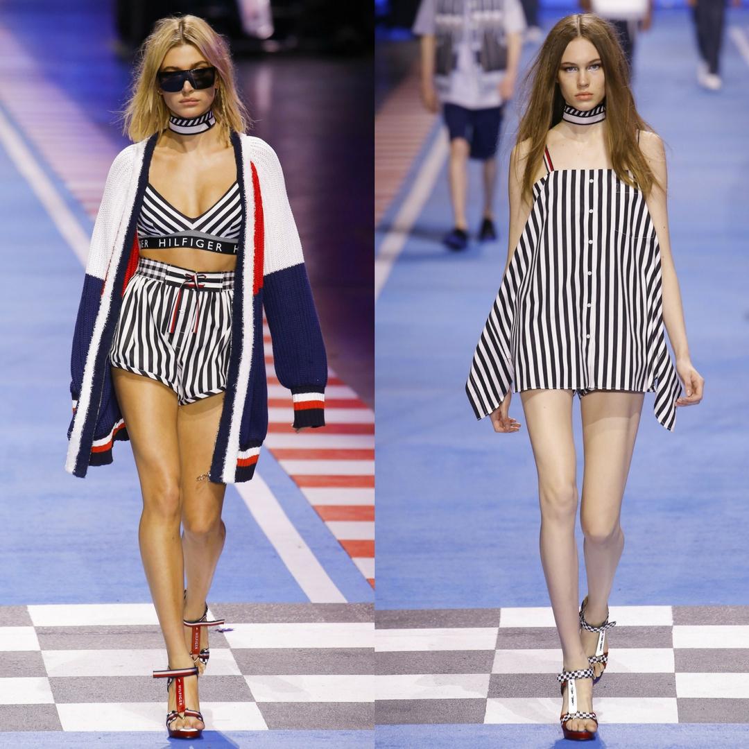 Thương hiệu Tommy Hilfiger biến sàn diễn thời trang thành đường đua công thức 1