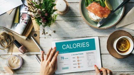 Giảm cân hiệu quả bằng cách xác định lượng calo tiêu thụ
