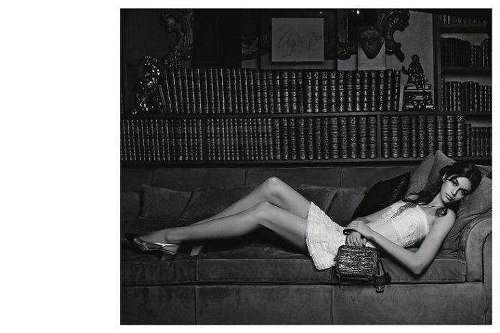ELLE Việt Nam - Kaia Gerber trở thành nàng thơ mới cho Chanel trong chiến dịch túi xách mùa xuân 2018 (4)