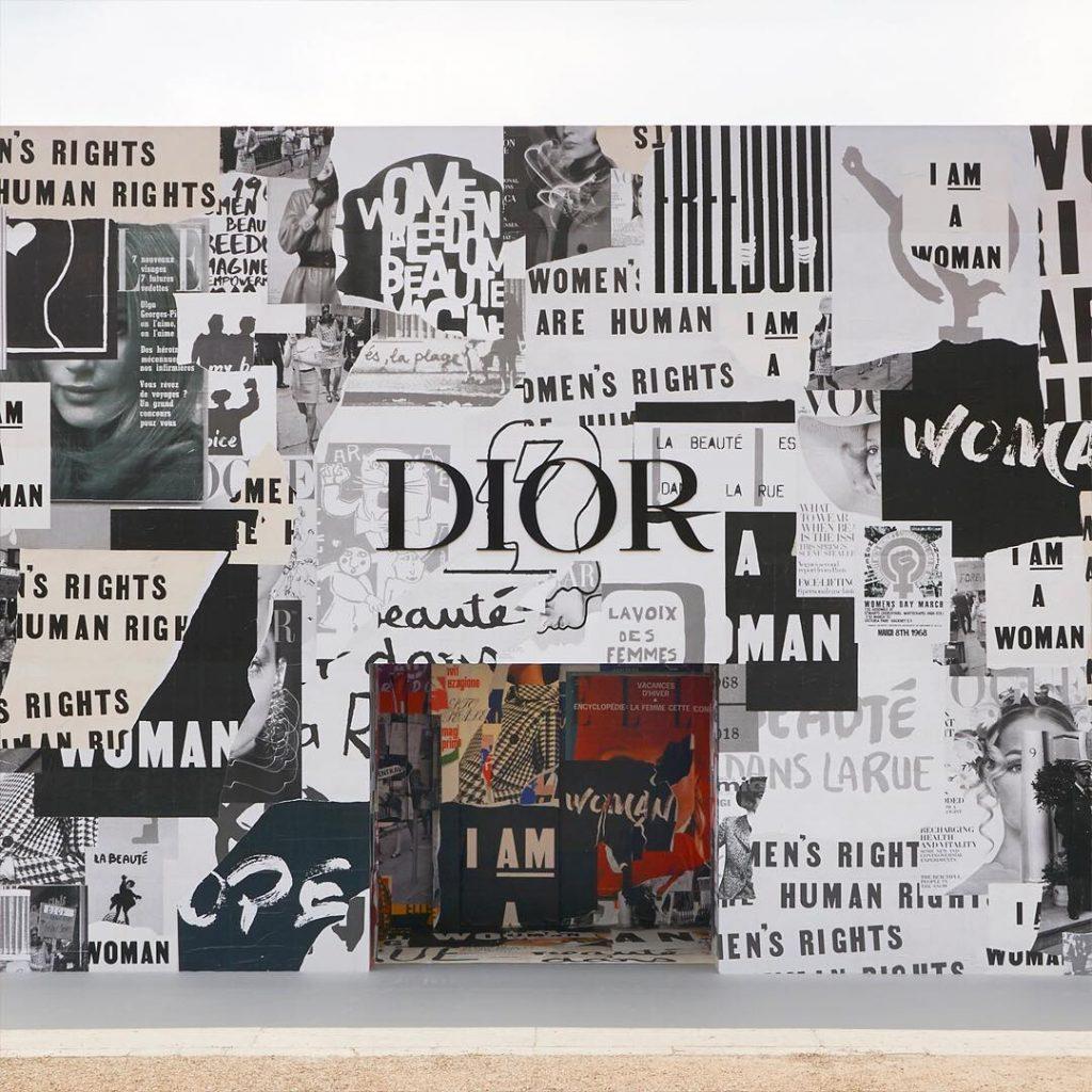 Thương hiệu Dior Thu-Đông 2018