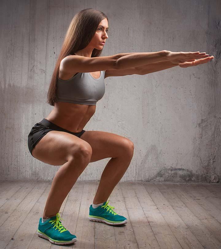 bài tập squat đúng cách 1