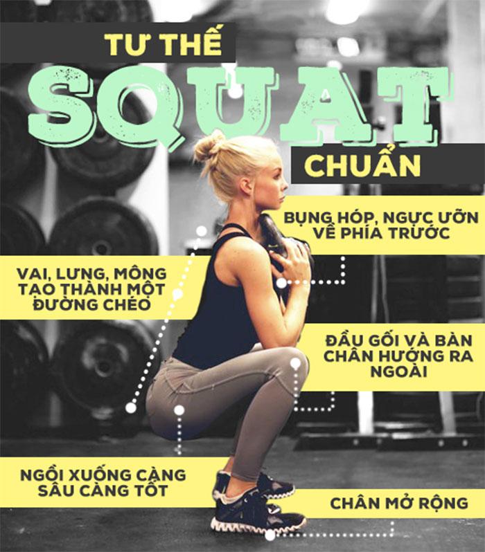 bài tập squat đúng cách 4
