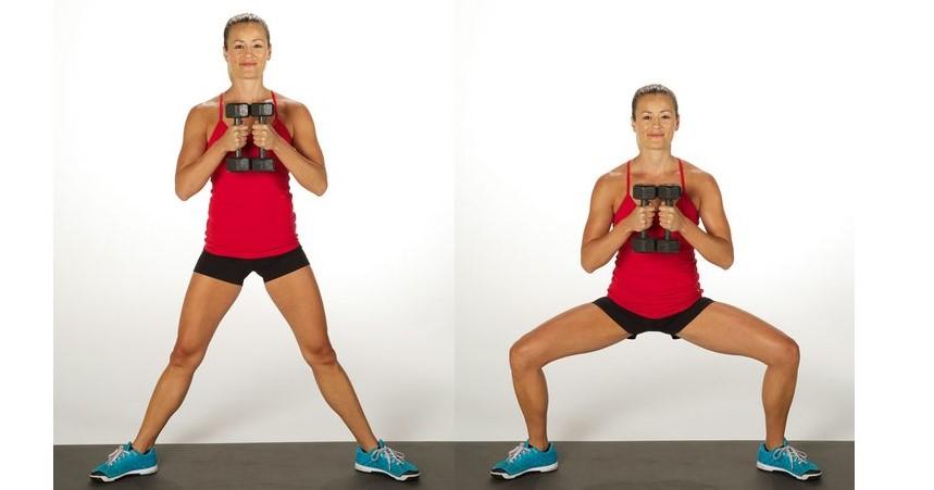 bài tập squat đúng cách 6
