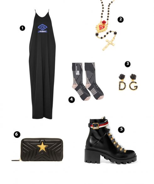 Look 3: Vetements – D&G – D&G – Prada – Gucci – Stella McCartney