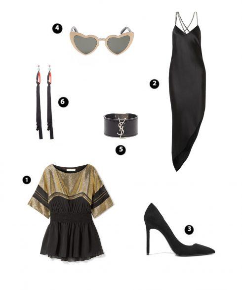 Look 4: Chlóe – Michelle Mason – YSL – YSL – YSL – Marni