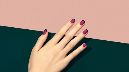 15 mẫu sơn móng tay đẹp kiểu Pháp cho quý cô thanh lịch