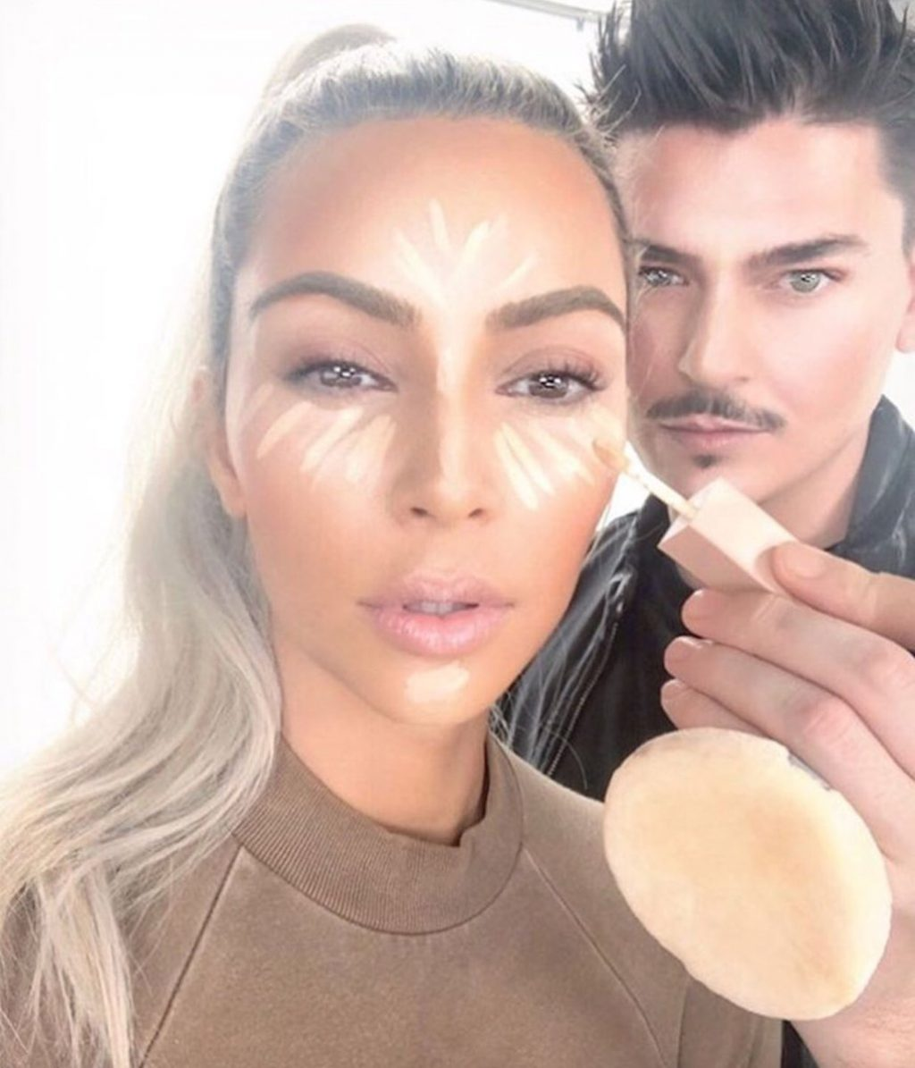 nguyên tắc trang điểm đẹp của kim kardashian 4