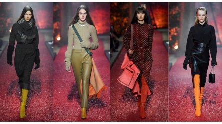 Hermès Thu - Đông 2018: Ấm nóng những sắc thái cổ điển từ chất liệu da