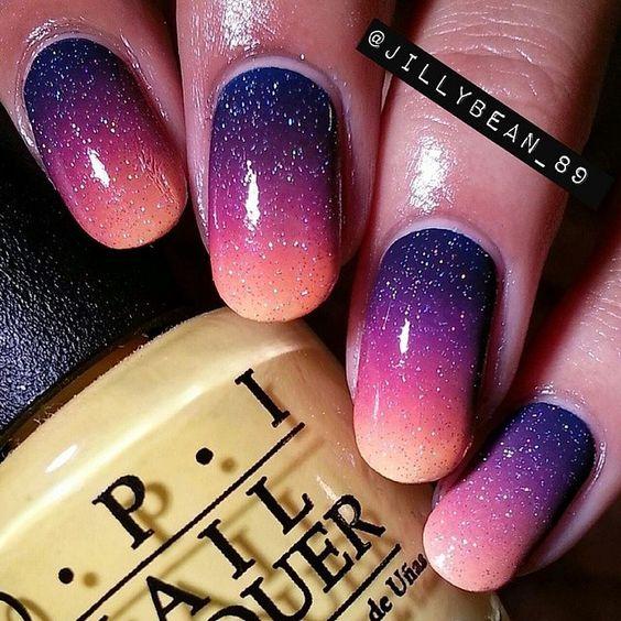 sơn móng tay đẹp ombre 5