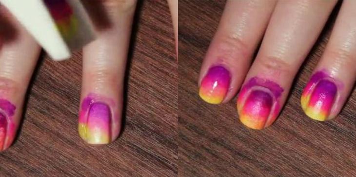 sơn móng tay đẹp ombre b2