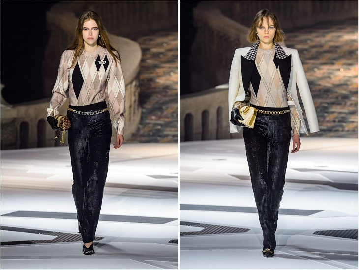 ELLE Việt Nam - Mãn nhãn với cảm hứng thời đại trong bộ sưu tập mùa thu Louis Vuitton 2018 (17)