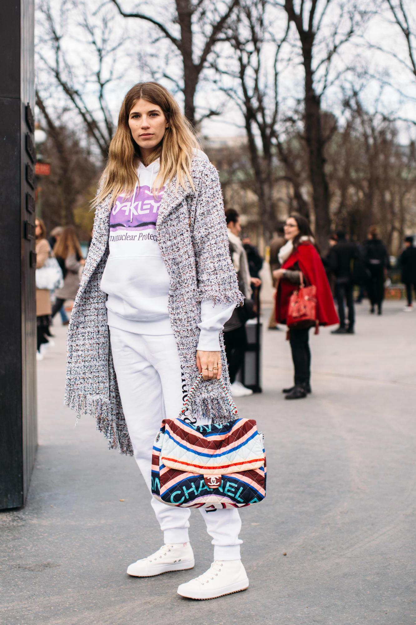 Thương hiệu Chanel street style Tuần lễ thời trang Paris 12