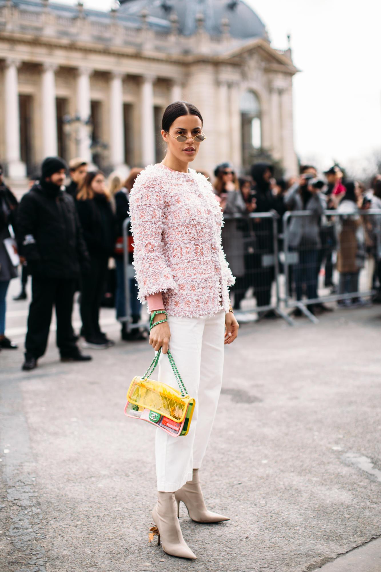 Thương hiệu Chanel street style Tuần lễ thời trang Paris 11