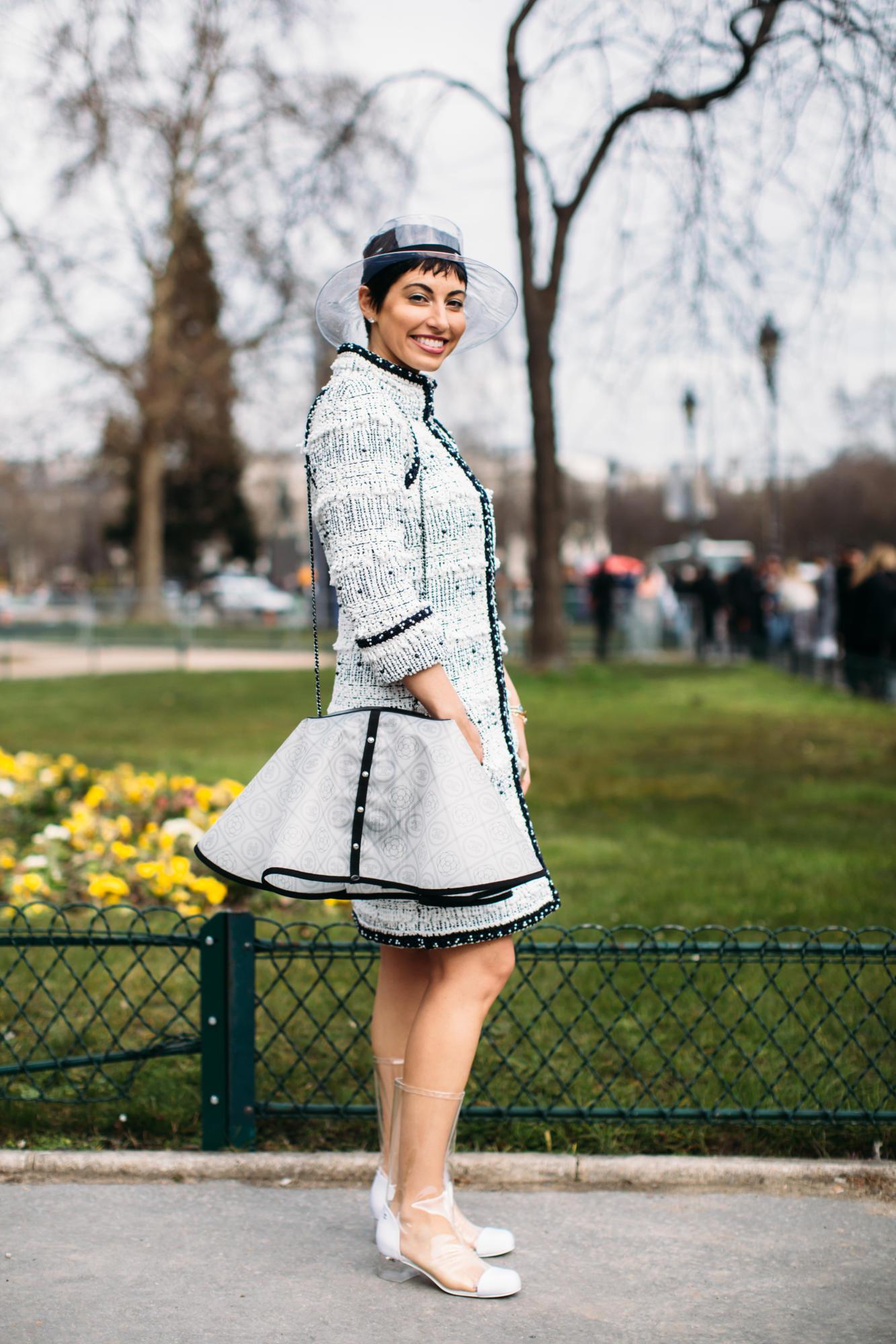 Thương hiệu Chanel street style Tuần lễ thời trang Paris 6