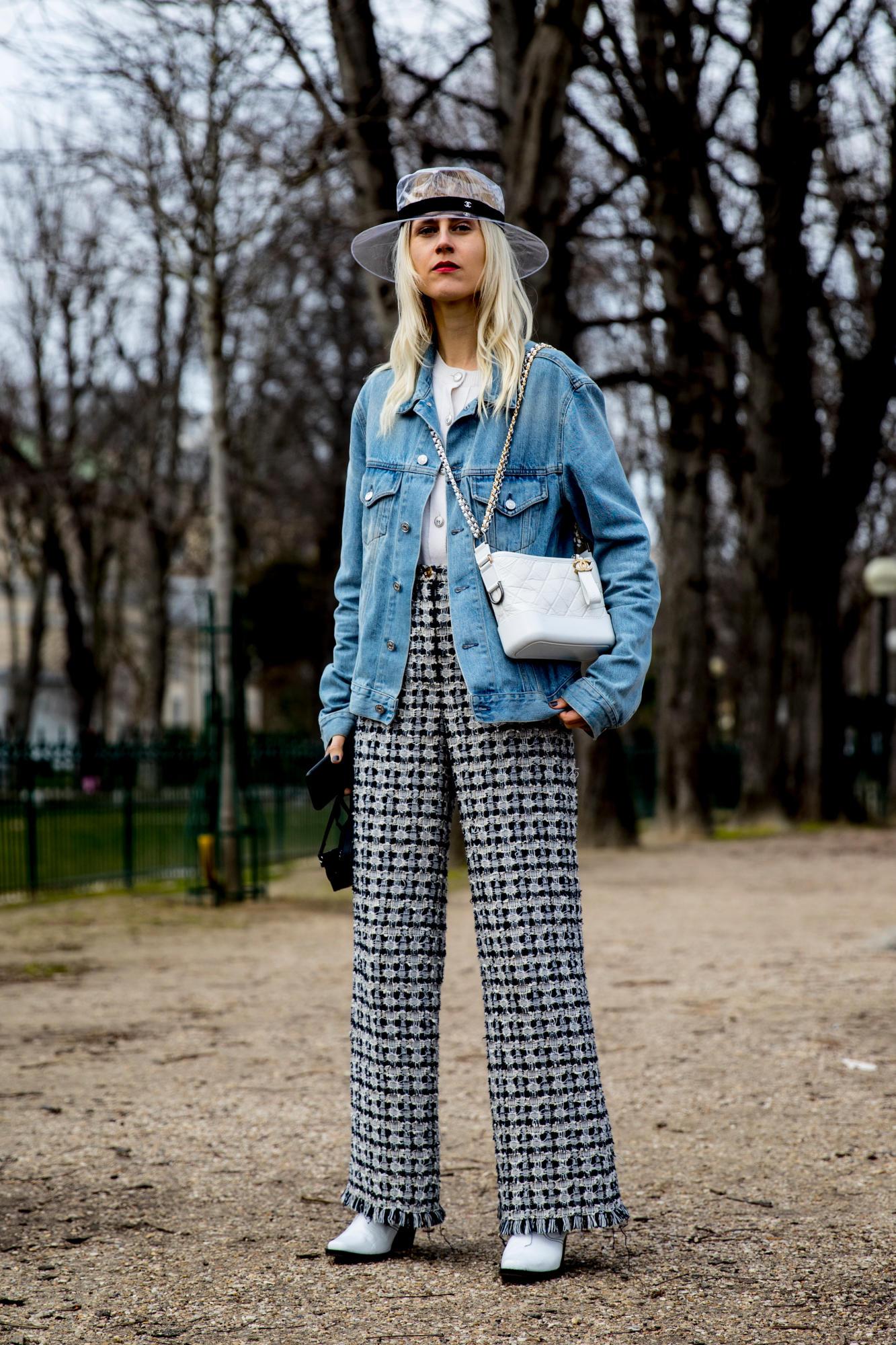 Thương hiệu Chanel street style Tuần lễ thời trang Paris 7