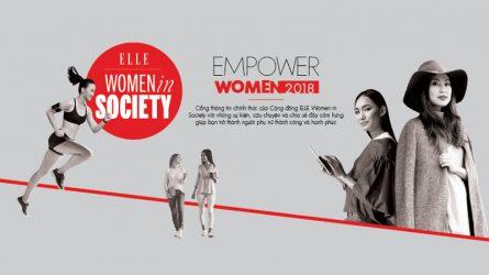ELLE Women in Society - Cộng đồng mới của phụ nữ hiện đại