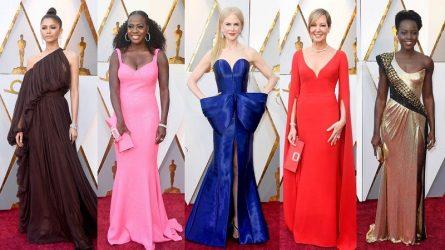 Những gam màu thời trang nào đang càn quét thảm đỏ các buổi lễ trao giải?