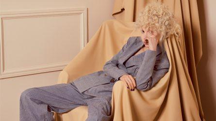 Bộ ảnh thời trang: Ô kẻ màu xuân