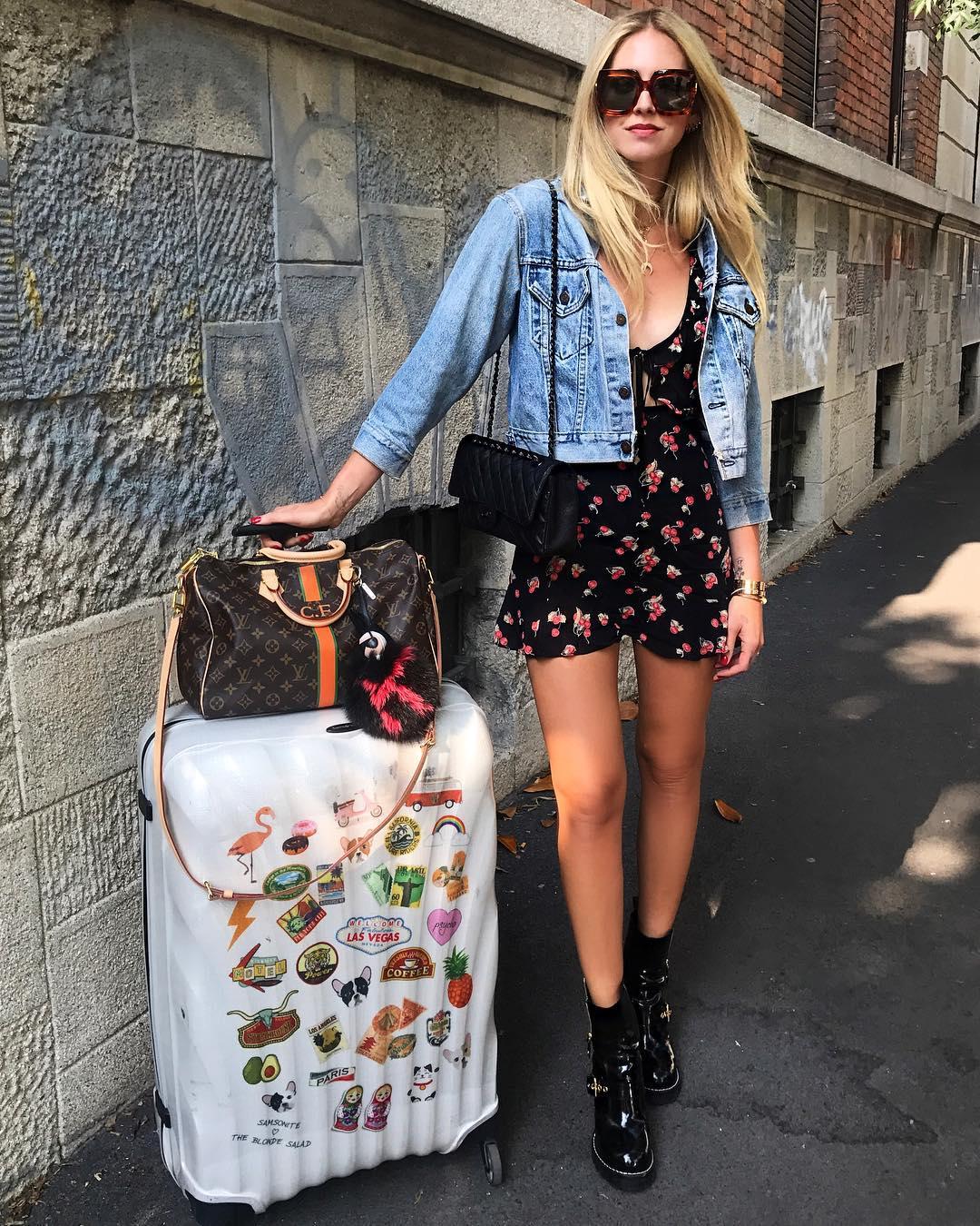 Học cách mặc đẹp từ tín đồ thời trang hàng đầu nước Ý Chiara Ferragni