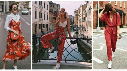 Bí quyết mặc đẹp chuẩn fashionista với họa tiết hoa lá mùa hè