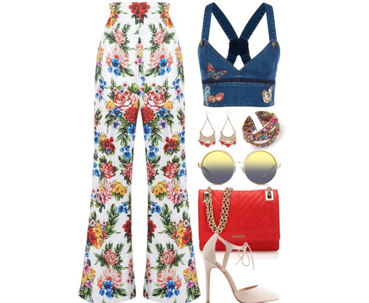 ELLE Việt Nam - Bí quyết diện đẹp chuẩn fashionista với họa tiết hoa lá mùa hè (2)