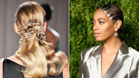 Sự trở lại của những chiếc kẹp tóc kim loại