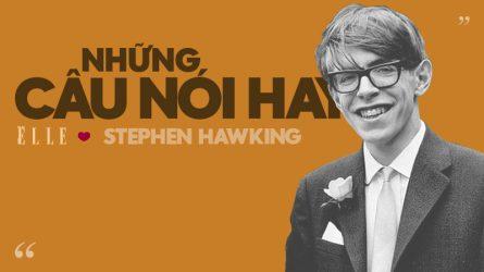 20 câu nói hay của nhà vật lý học đại tài Stephen Hawking