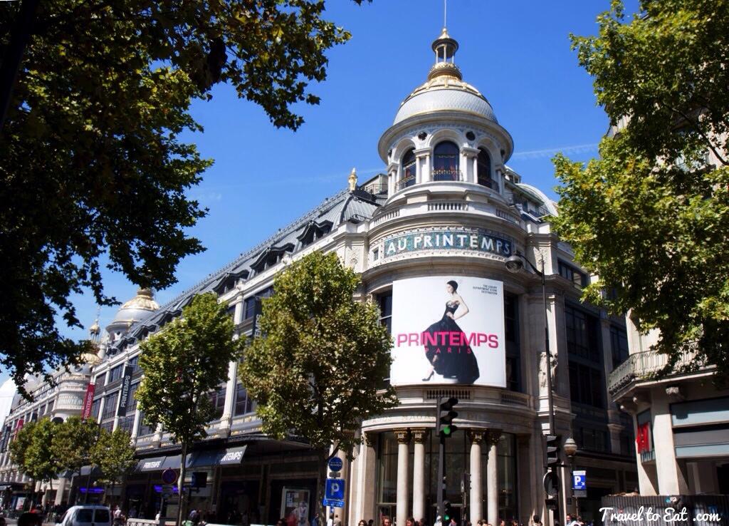 Du lịch paris mua mỹ phẩm 1