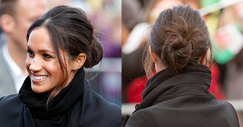 cách búi tóc messy bun 7