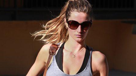 13 kiểu tóc đẹp của sao khi đi tập gym
