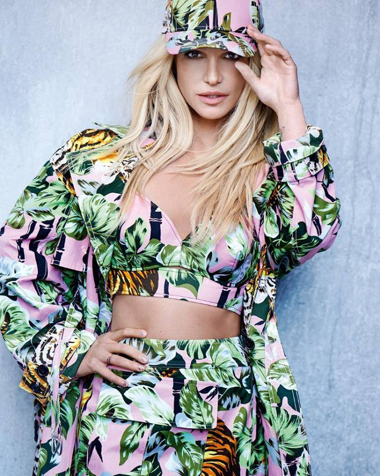 Ai bảo Britney Spears đã hết thời? Rõ ràng thương hiệu Kenzo lại không cho là như vậy