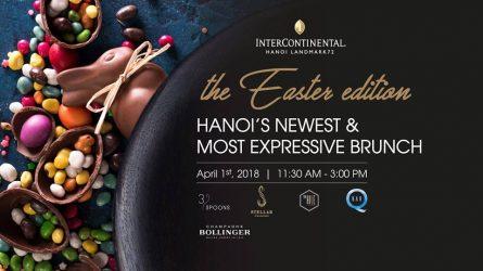 Tiệc trưa Lễ Phục Sinh chủ nhật hàng tháng tại khách sạn Intercontinental Hà Nội