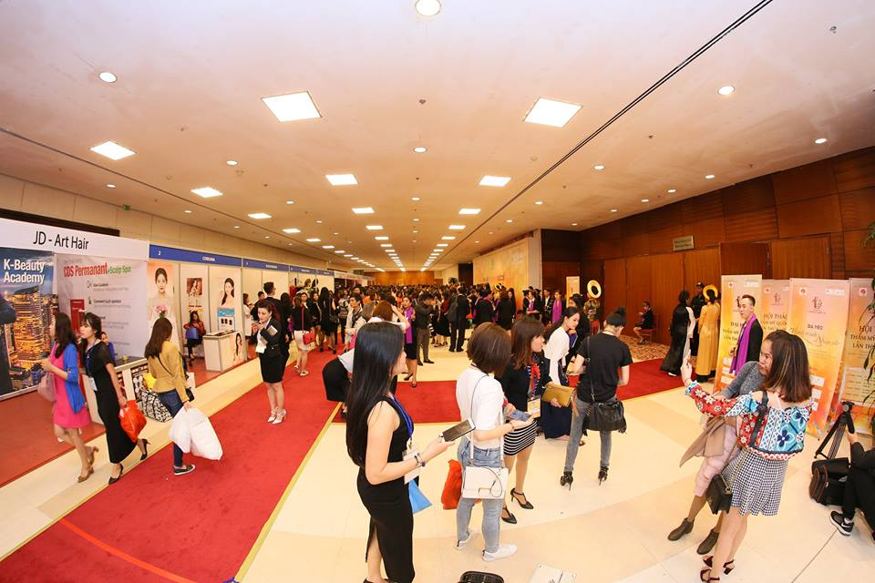 Information about the First International Beauty Conference in Vietnam in 2018 9