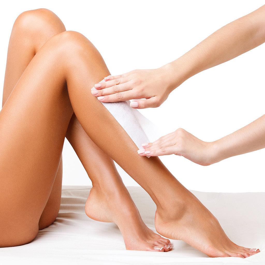 triệt lông chân hiệu quả bằng wax