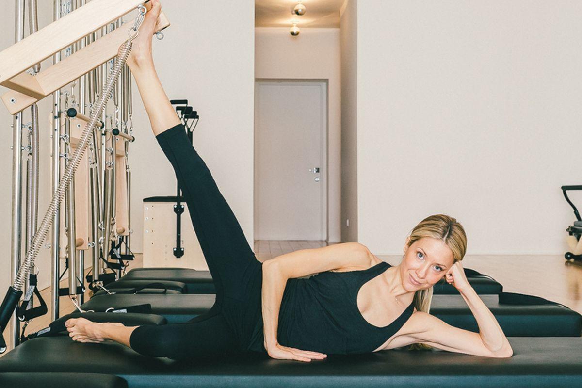 bài tập giảm cân pilates selena