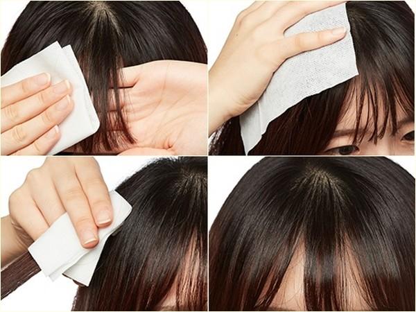 cách làm khô tóc nhanh 2