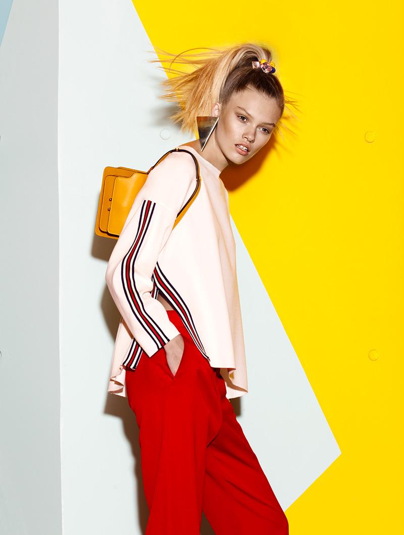 Người mẫu Maggie Laine 1