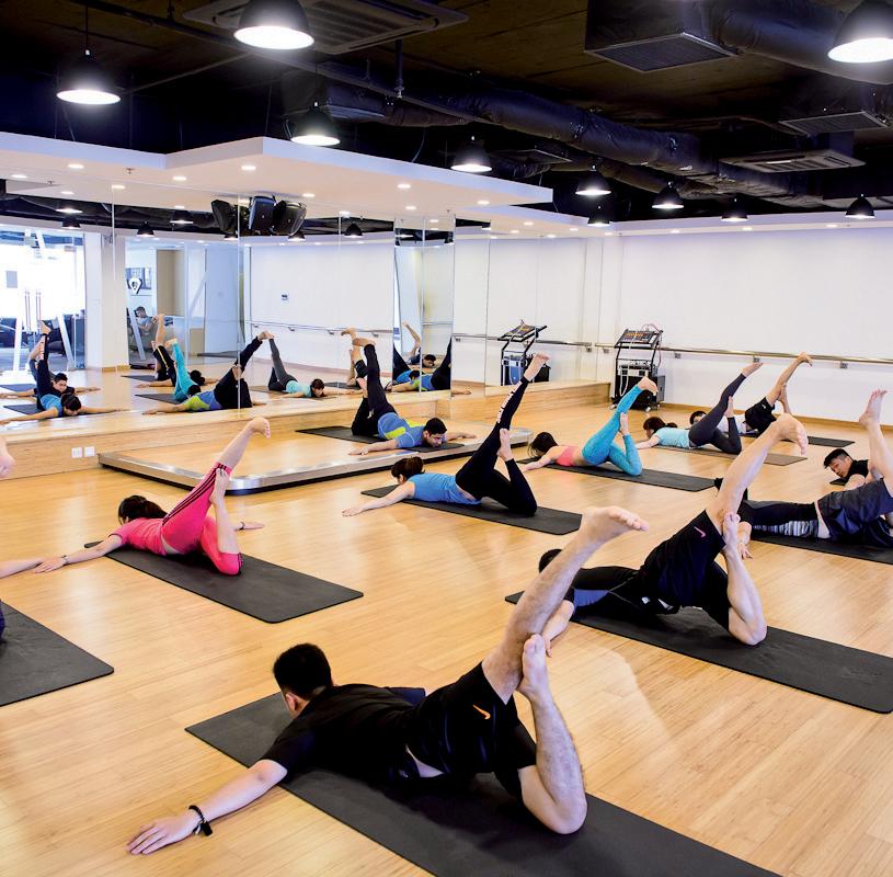 dạy Yoga 1