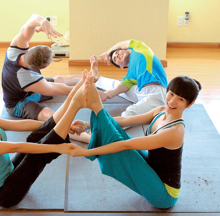 dạy Yoga 2