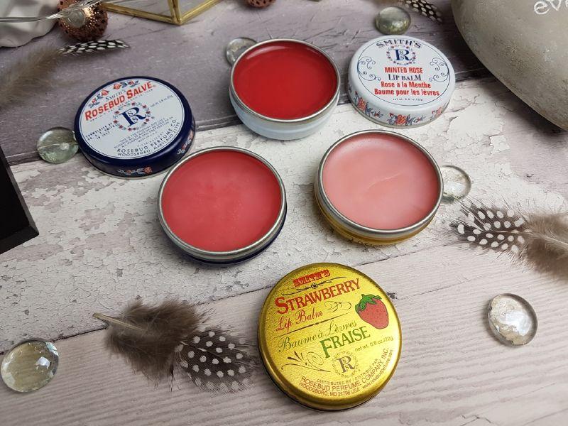 Son dưỡng môi tốt 6 Smith's Rosebub Salve Orignal