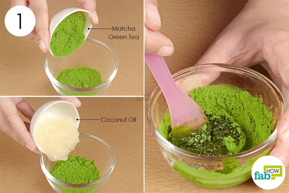 Mặt nạ dưỡng da từ trà xanh 4