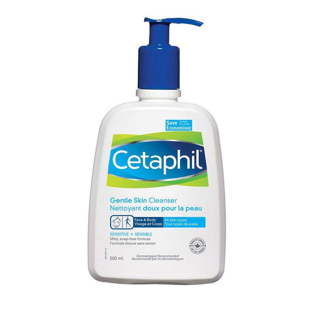 sữa rửa mặt tốt cho da mụn cetaphil