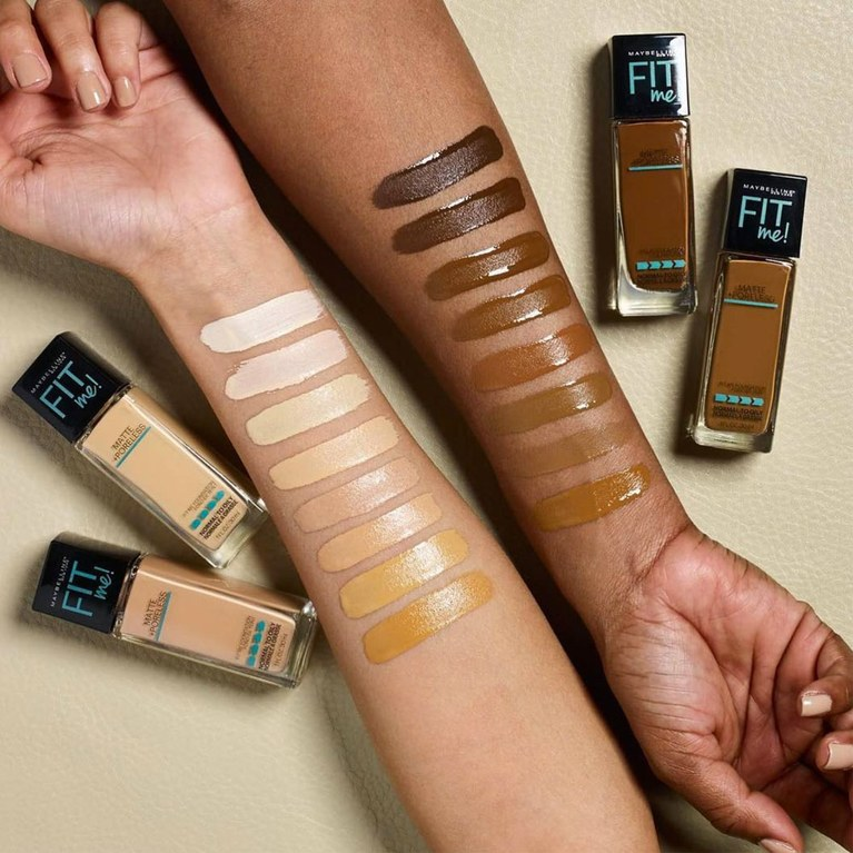 Kem nền lâu trôi Maybelline Fit Me Matte + Poreless Foundation 5