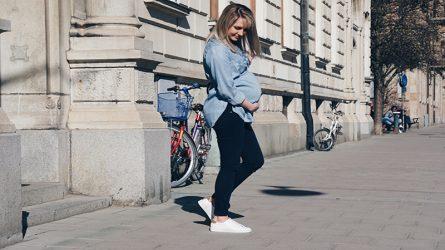 Sự kì diệu từ chiếc quần jeans của Levi's cho phụ nữ đang mang thai