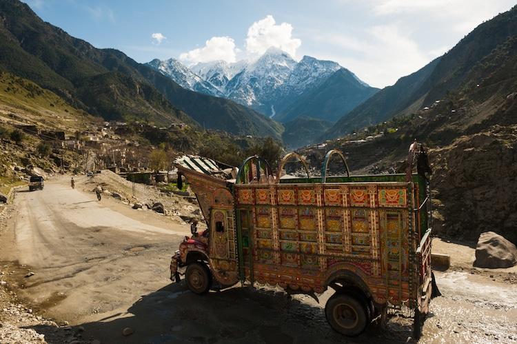xe tải leng keng ở Pakistan 4