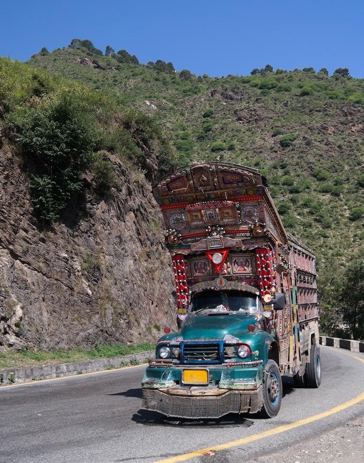 xe tải leng keng ở Pakistan 6